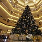 Luxus kristályok Európa legértékesebb karácsonyfáján