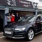 Képek: így válogatnak a Real Madridnál autókat