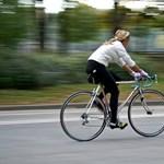 Biciklizéssel a tél és a járvány ellen