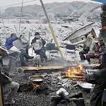 Katasztrófafilmbe illő képek Japánból – Nagyítás-fotógaléria