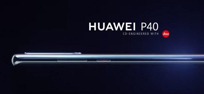Egy hónap múlva mutatja be a Huawei a P40 és P40 Pro mobilokat