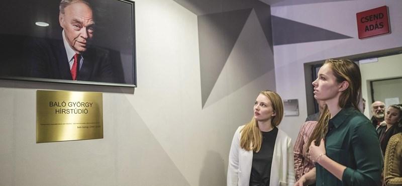 Mától Baló György nevét viseli az RTL Klub hírstúdiója