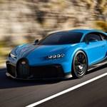 Könnyebb és jobban gyorsul a legújabb Bugatti hiperautó