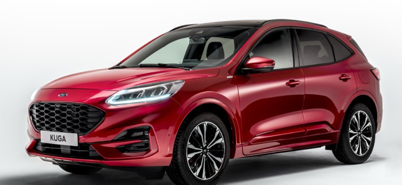 Itt a teljesen új Ford Kuga, háromféle hibrid hajtással