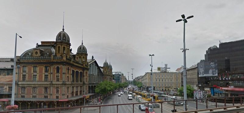A metrófelújítás miatt forgalomkorlátozás jön a Nyugati térnél