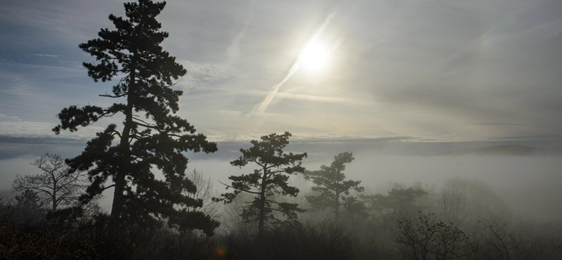 Sűrű köd borítja be az országot kedden