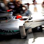 Schumacher titkos tesztje Angliában