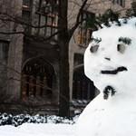 A kukkoló, a gazember és Hódzilla – íme a legjobb hóemberek – fotók!