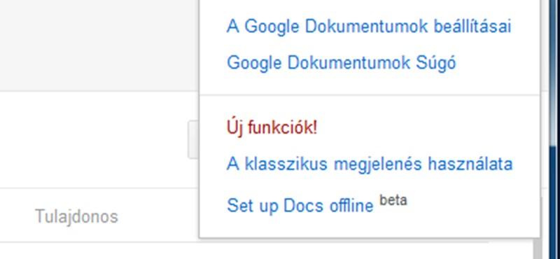 Már elérhető az offline Google Docs és Google Calendar