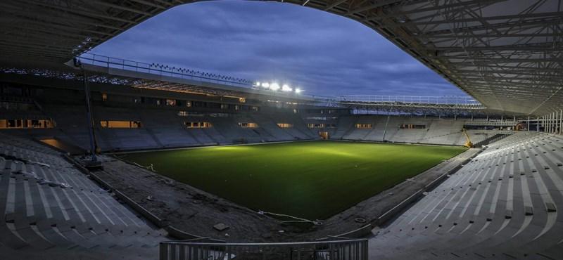 Fotók: felgyulladtak a fények az új debreceni stadionban
