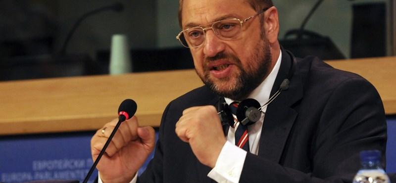 Martin Schulz: politikai tisztogatás zajlik Magyarországon