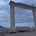 A szárazság miatt újra előkerült egy rég eltűnt templom Thaiföldön