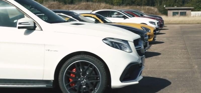 Lássuk, mire mennek egymás ellen a Mercedes AMG modelljei – videó