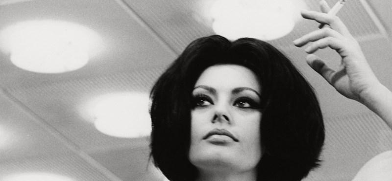 Ma 85 éves Sophia Loren, és nem tud leállni a filmezéssel
