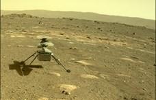 Lenyűgöző videót készített a NASA, 3D-ben nézhetjük a marsi helikopter repülését