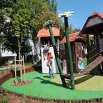 Fotók: Erre mondják, hogy Budapest egyik legszebb játszótere