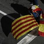 Ezrek tüntettek Katalóniában