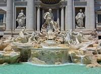 Rendesen összekapott a római Trevi-kútba dobált aprópénzen az egyház és a városvezetés