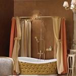 Fényűző fürdőszobák! Baldachinos, bőrkárpitos luxuskádak (fotókkal)