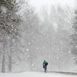 Havazik a Mátrában, lehet síelni