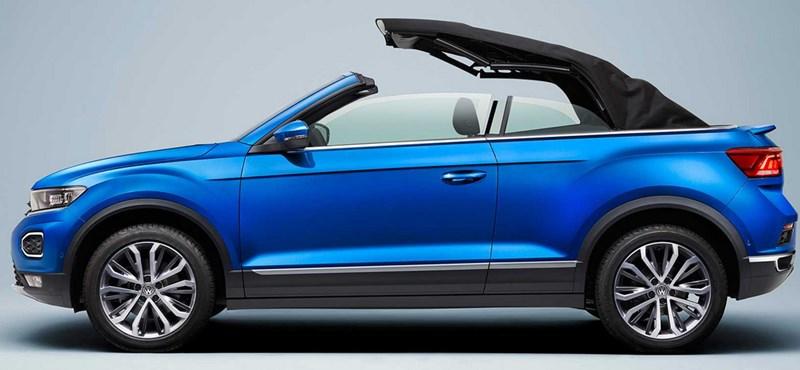Mint egy falat kenyér: itt a VW első kabrió divatterepjárója