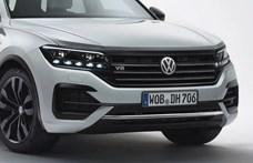 Búcsúzik a VW Touareg 421 lóerős V8-as dízelmotorja