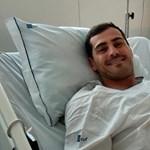 Szerencséje volt Iker Casillasnak, hogy az edzésen kapott szívrohamot