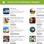 Újdonság a Google Playen: kiemelt alkalmazások táblagépekre