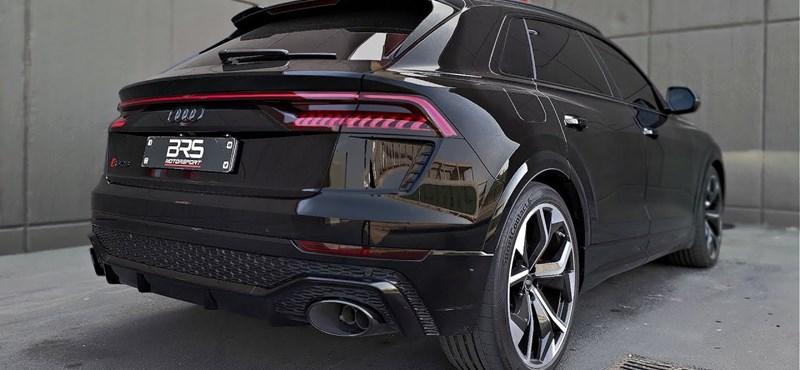 A hangja is dörgedelmes lett a 700 lóerősre húzott Audi RS Q8-nak