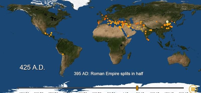 Zseniális videó a városok kialakulásáról