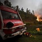 Horror Portugáliában: több tucat halott a szombaton kitört erdőtűzben