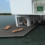 A világ első úszó társasházai - a jövő otthonai?