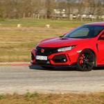 Vörös fenevad: Teszten Michelisz Norbi szolgálati autója, az új Type-R