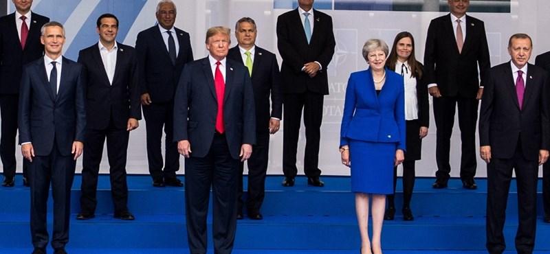 Fotó: Orbánnak sikerült találkoznia Trumppal – igaz, most sem úgy