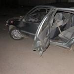 Fotók: Az utas halt meg egy éjszakai karambolban