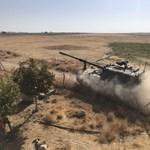 Civilekre szórja a bombákat a török hadsereg Irakban