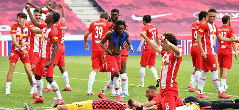 Újra bajnokok Szoboszlai Dominikék