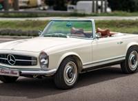 Eladó az egyik legszebb régi hazai Mercedes, amit részben egy magyar tervezett