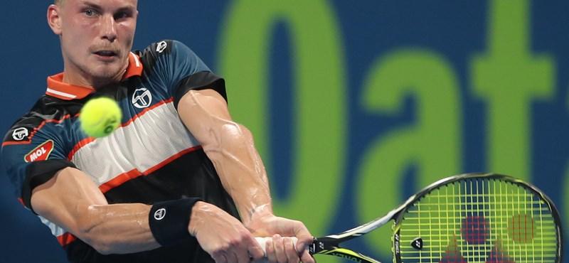 Fucsovics döntő szettben jutott tovább Monte-Carlóban