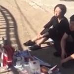 Belehalt az óvodai fegyelmezésbe a kínai kislány