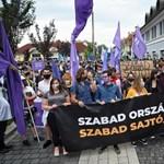 Nem járnak a fonódó villamosok az Index melletti tüntetés miatt