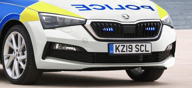Rendőrautó lett az új Skoda Scalából