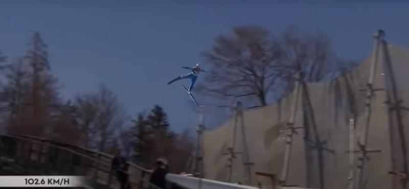 Felébresztették a kómából a 102 km/h-s sebességgel lezuhant norvég síugrót