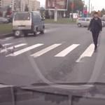 Videó: Paprikaspray-vel fogadták az agresszív autóst