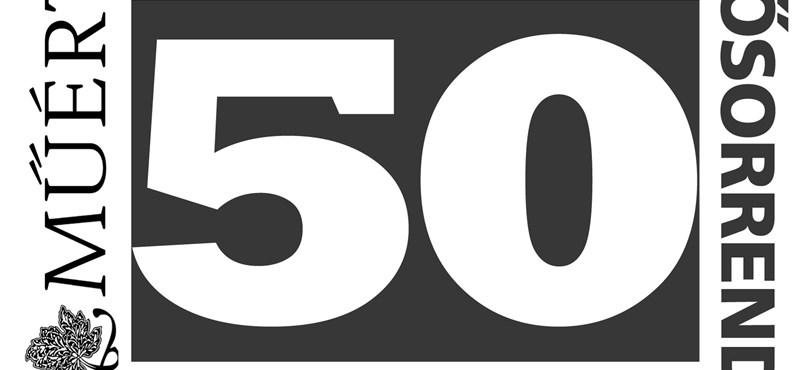 Power 50 – A Műértő magyar erősorrendje