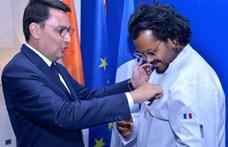 Francia érdemrend a bengáli séfnek