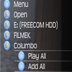 Ez ám a médialejátszó: itt egy másik VLC