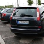 A hosszútávú pofátlan parkolás új rekorderét Solymáron fotóztuk le