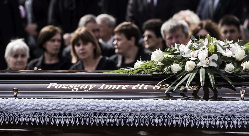 faz.16.04.15. - Pozsgay Imre temetése  Utolsó útjára kísérték pénteken a fővárosi Farkasréti temetőben Pozsgay Imre volt államminisztert, egyetemi tanárt, aki március 25-én, életének nyolcvanharmadik évében hunyt el.