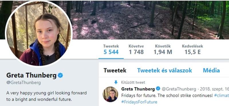 Greta Thunberg úgy szólt vissza Trumpnak, hogy majdnem megsajnáltuk szegény elnököt